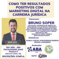 "Palestra ""Como ter Resultados Positivos com Marketing Digital na Carreira Jurídica"" - Campus Pelotas"